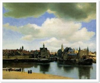 vue de Delft Vermeer