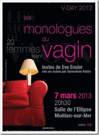 Monologues du vagin Moëlan 7 3 2013